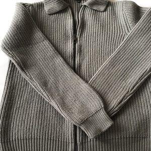 Men's Giorgio Armani Zip Sweater